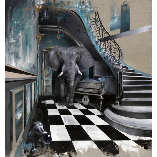 Elephant in the Room - Print