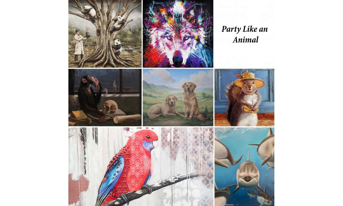 Party Like an Animal exhibition